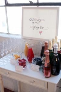 Champagne & Cupcake Bar