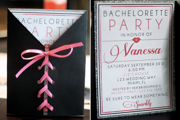 7 Bachelorette Party Invites We Re Swooning Over Trueblu