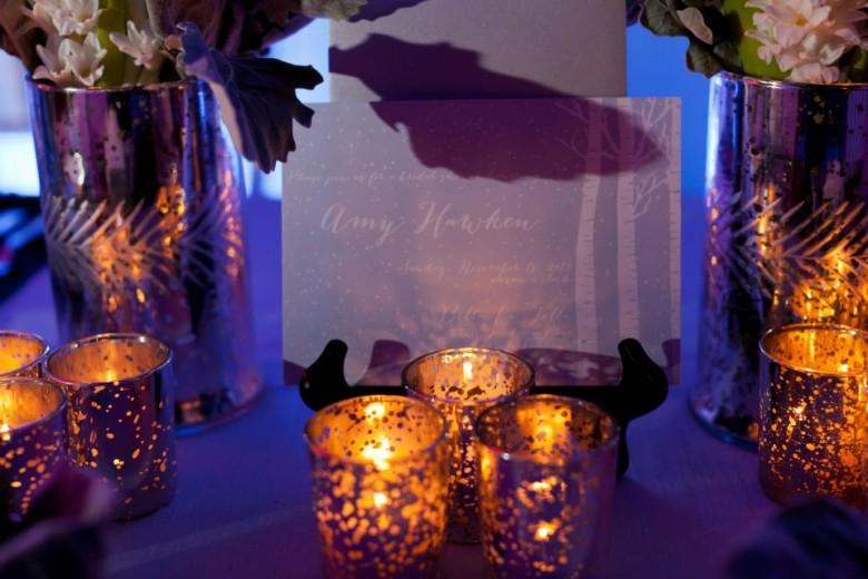 Winter bridal shower inspiration trueblu bridesmaid for Winter bachelorette party ideas