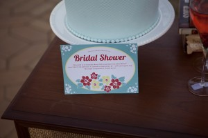 A Mid Century Bridal Shower
