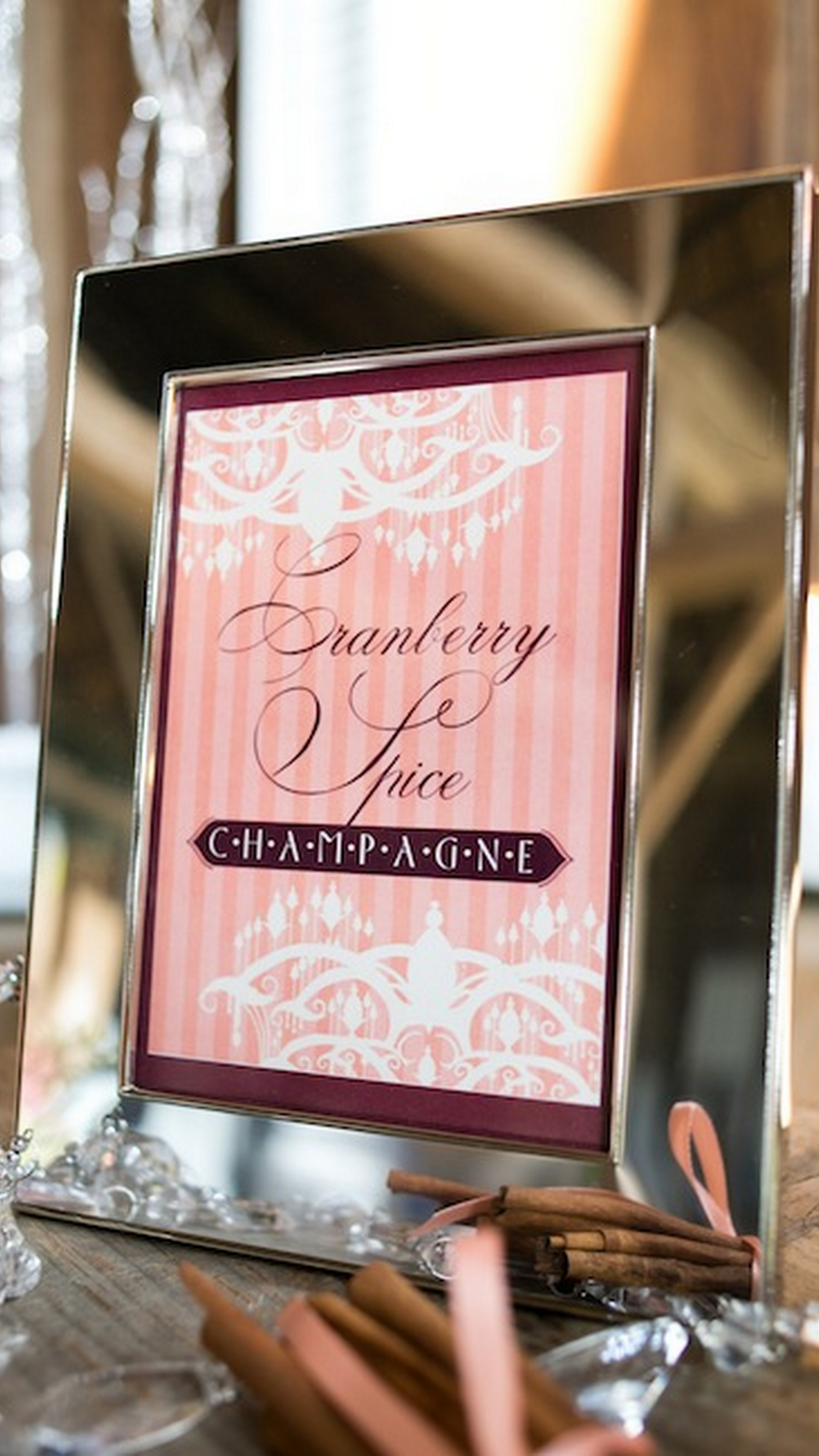Champagne & Spice Bridal Shower - TrueBlu | Bridesmaid Resource for ...