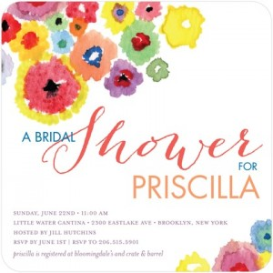 Springtime Bridal Showers