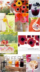 Inspiration Board: Poppy Surprise Bridal Shower