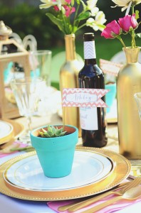 A Lovely Backyard Bridal Shower for Natalie