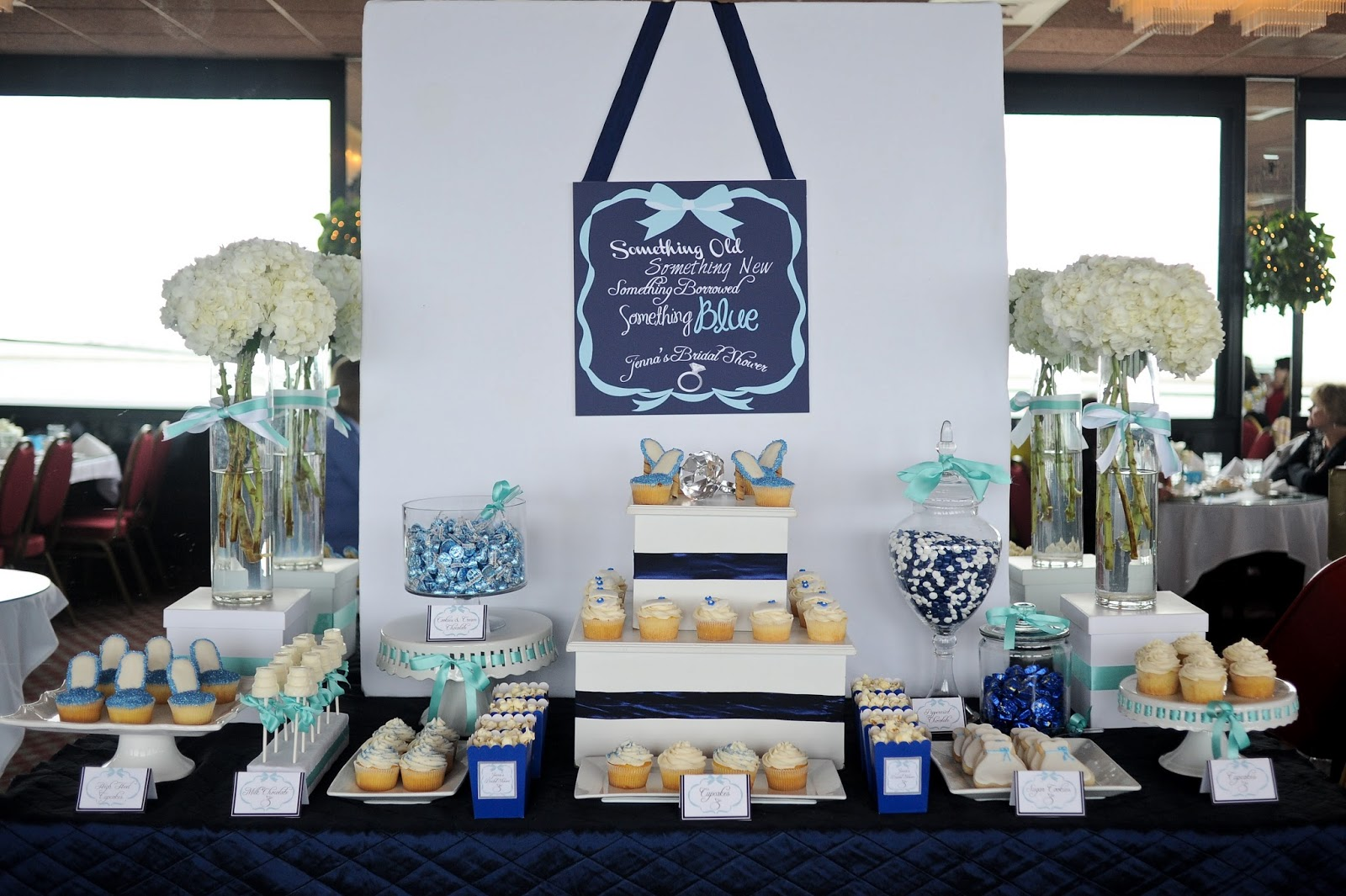 Something Blue Bridal Shower TrueBlu Bridesmaid