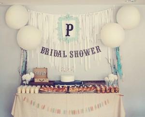 Vintage Romantic Bridal Shower