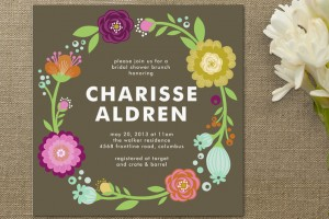 Bridal Shower and Bachelorette Invitations by Minted