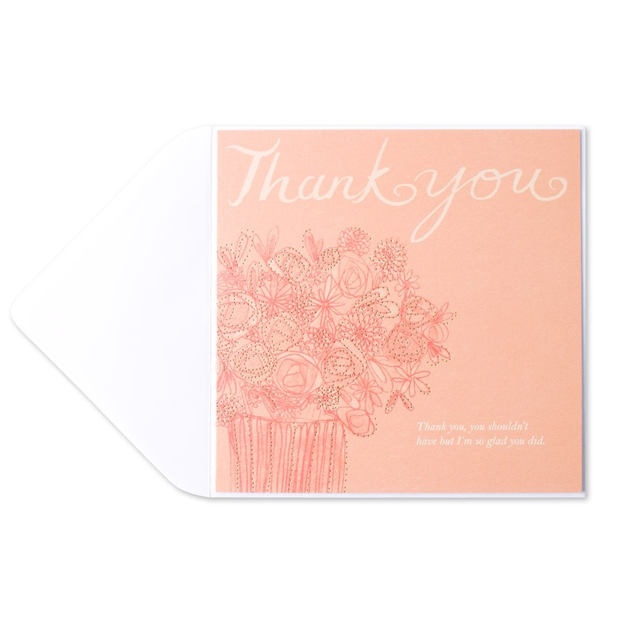 thank you from the mr and mrs cards wedding stationery