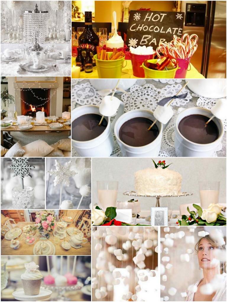 Winter bridal shower ideas trueblu bridesmaid resource for Winter bachelorette party ideas