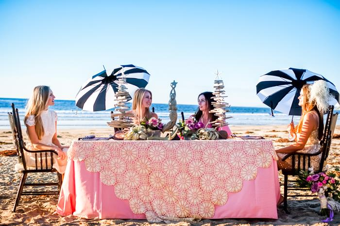beach themed bridal shower ideas