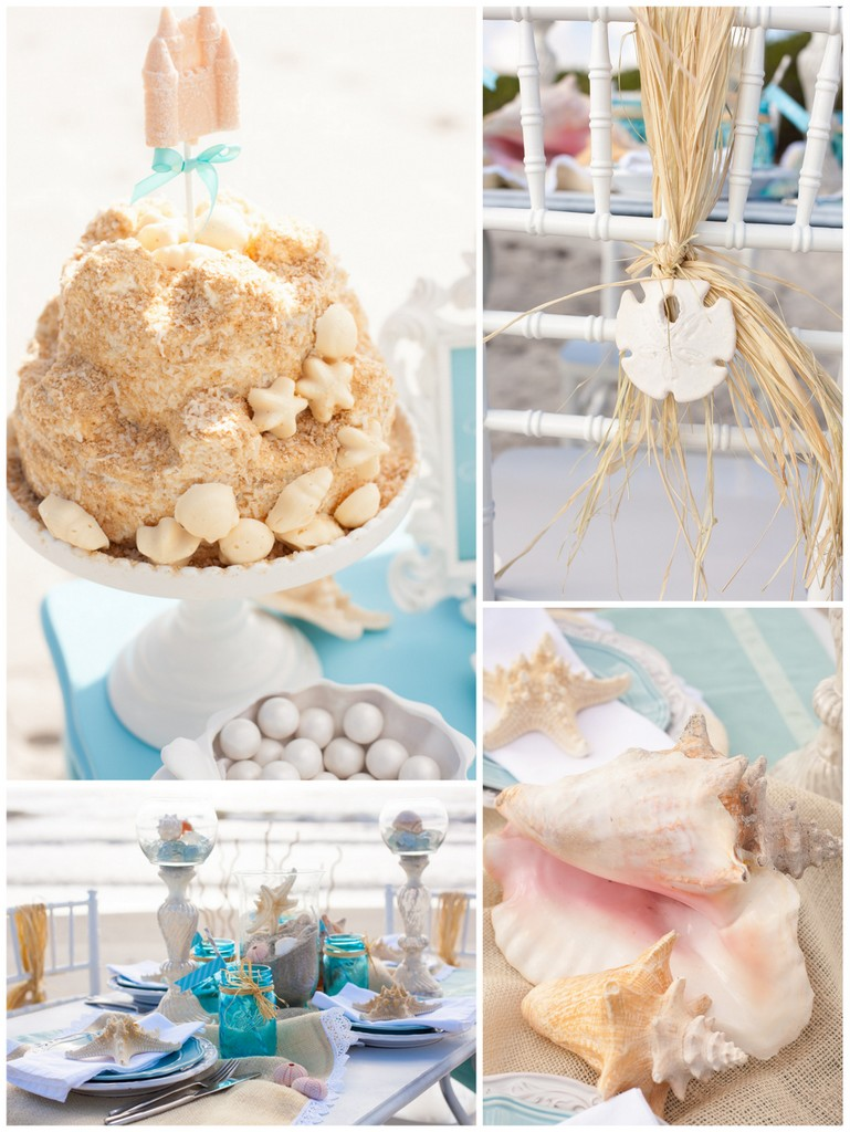 Beach Themed Bridal Shower Ideas  TrueBlu