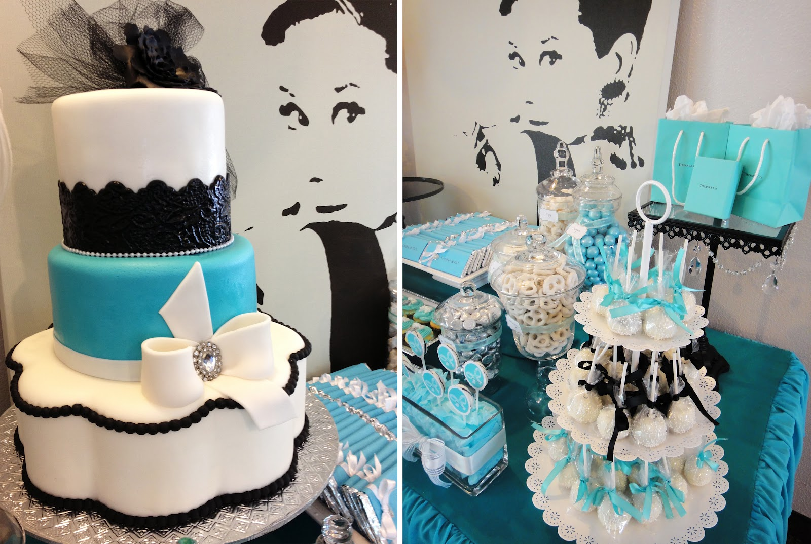 Black White And Tiffany Blue Wedding Viewing Gallery