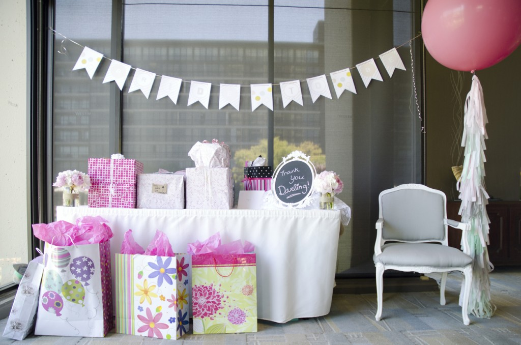 Amy's Pink And White Bridal Shower - TrueBlu