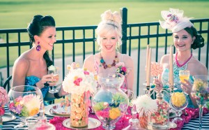Candy Crush Saga Bridal Shower Inspiration Shoot
