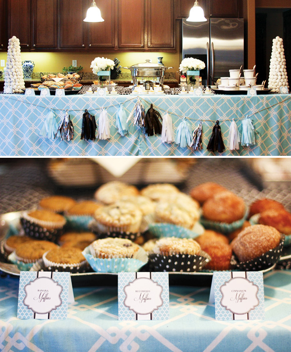 Brunch Food Ideas For Baby Shower: Breakfast At Tiffany's Bridal Shower Ideas