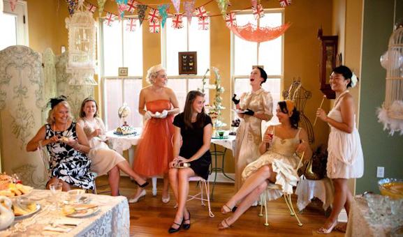 Retro Bachelorette Party Ideas Trueblu Bridesmaid