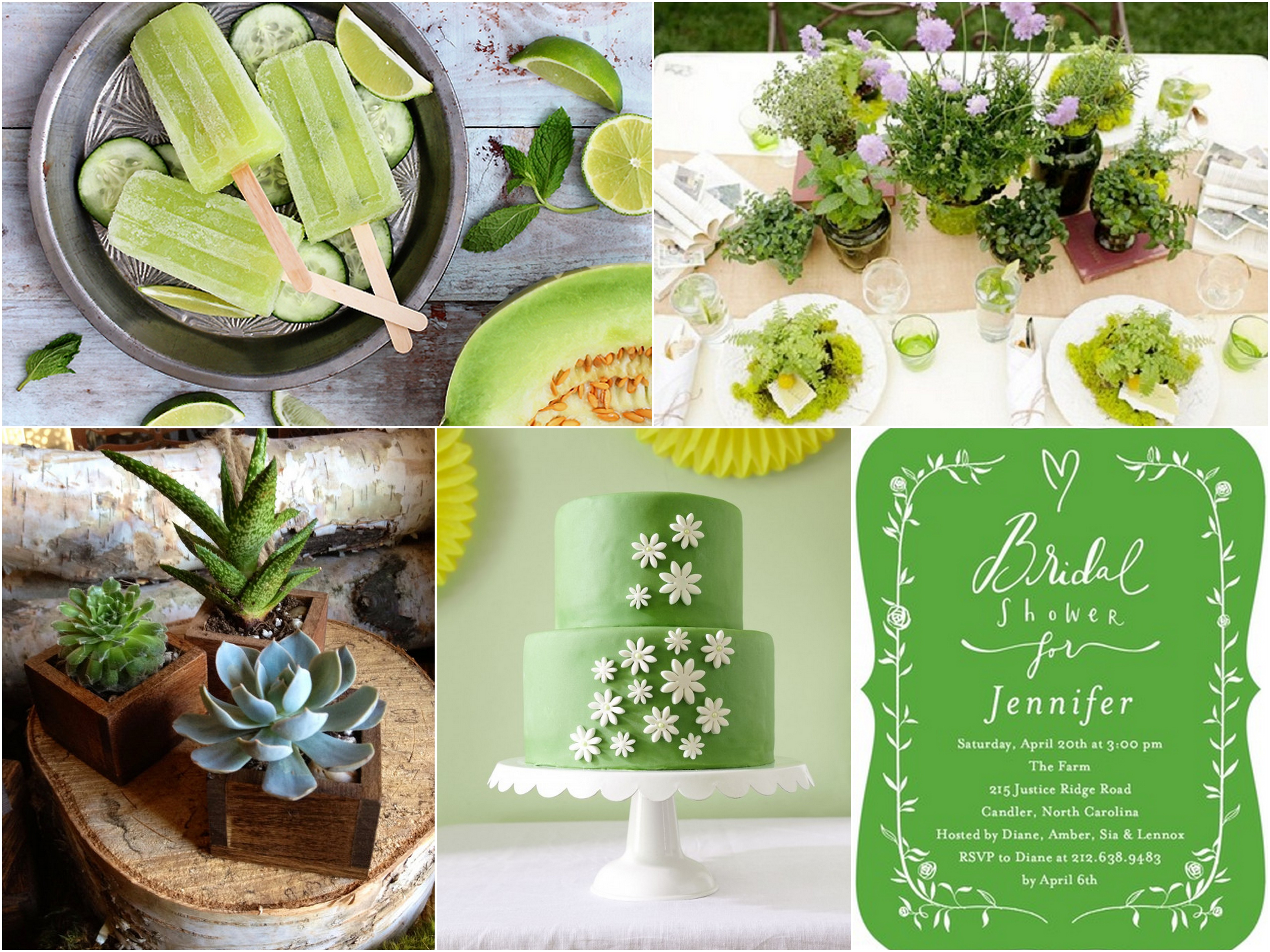 green bridal shower inspiration trueblu bridesmaid resource for bridal shower and bachelorette party ideas mytrueblucom