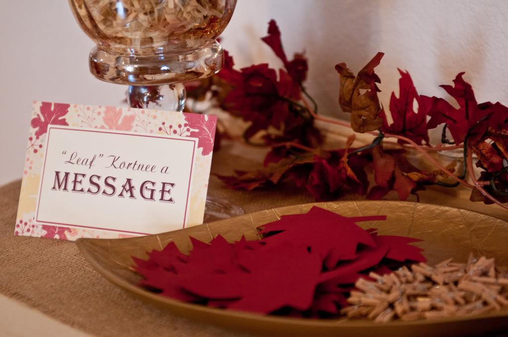 Ideas for a Fall Bridal Shower - TrueBlu | Bridesmaid ...