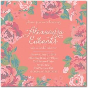 Bridal Shower Invites From Wedding Paper Divas