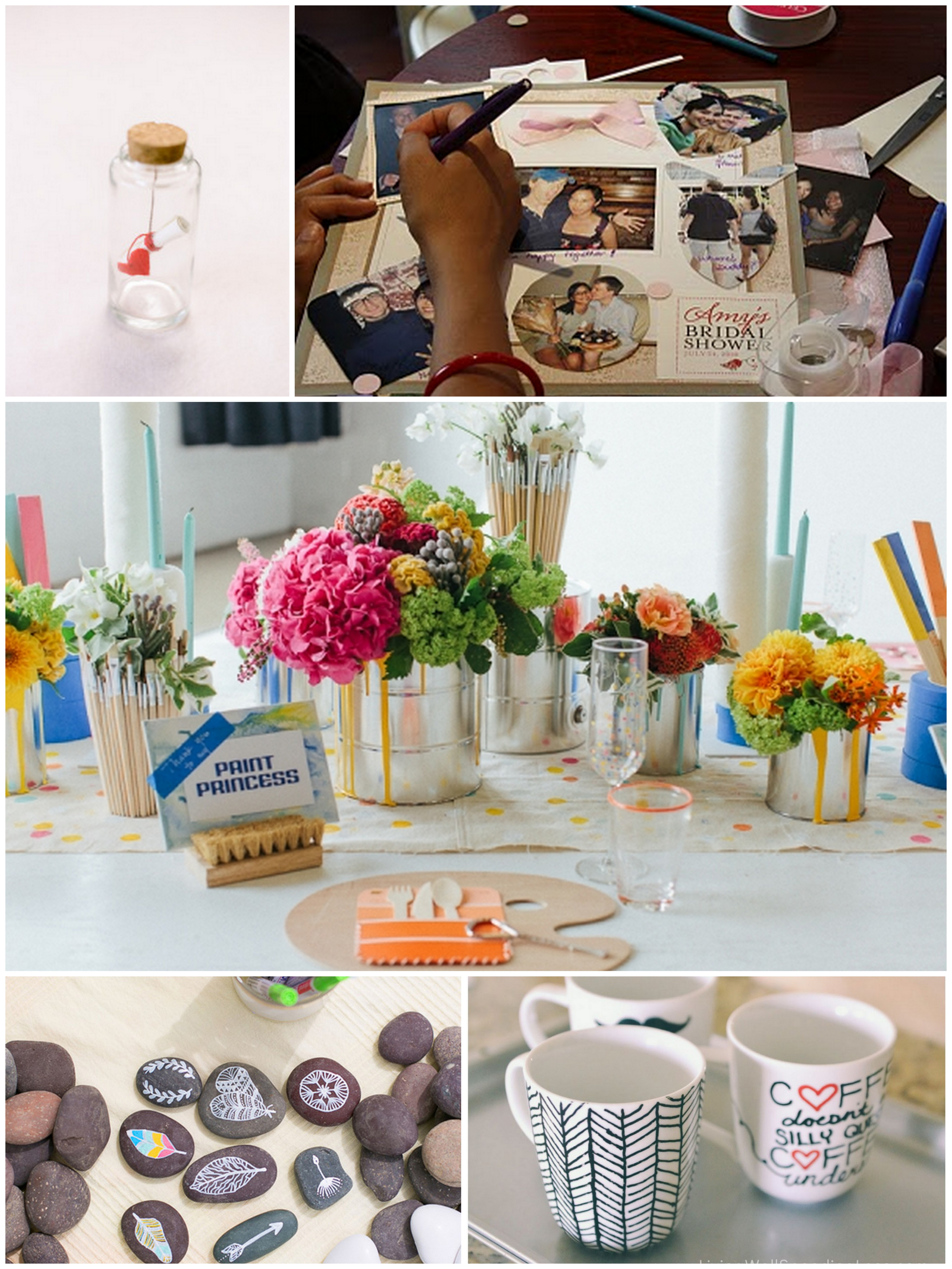 Bridal Shower Craft Party Ideas  TrueBlu