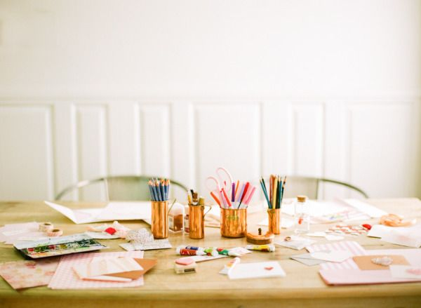 bridal shower craft party ideas