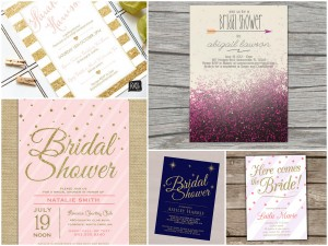 Glitzy Bridal Shower Ideas