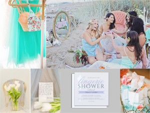 Boudoir Bridal Shower Inspiration