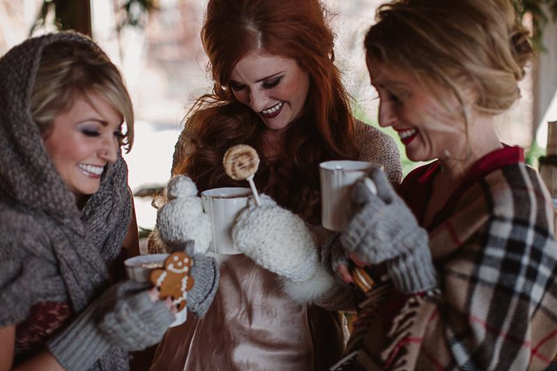 cozy bachelorette party ideas