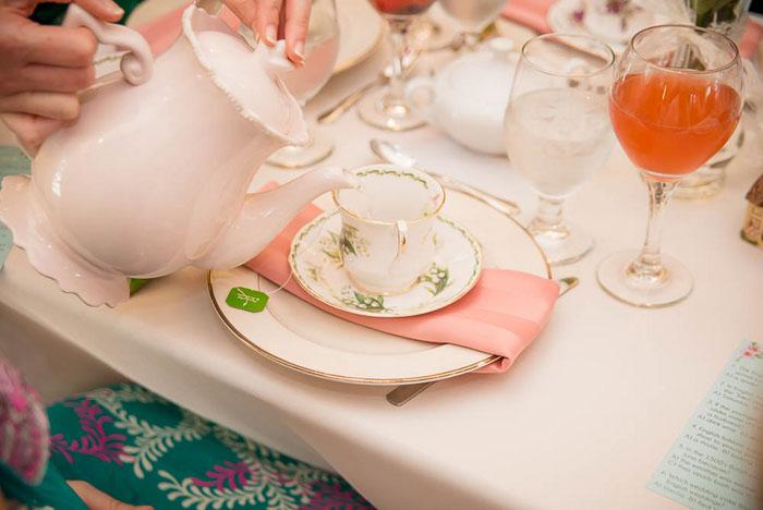 An English High Tea Bridal Shower