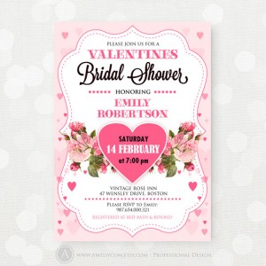 Valentine's Day Bridal Shower Finds