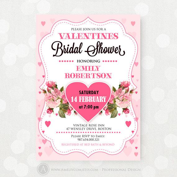 Valentine S Day Bridal Shower Finds Trueblu Bridesmaid Resource