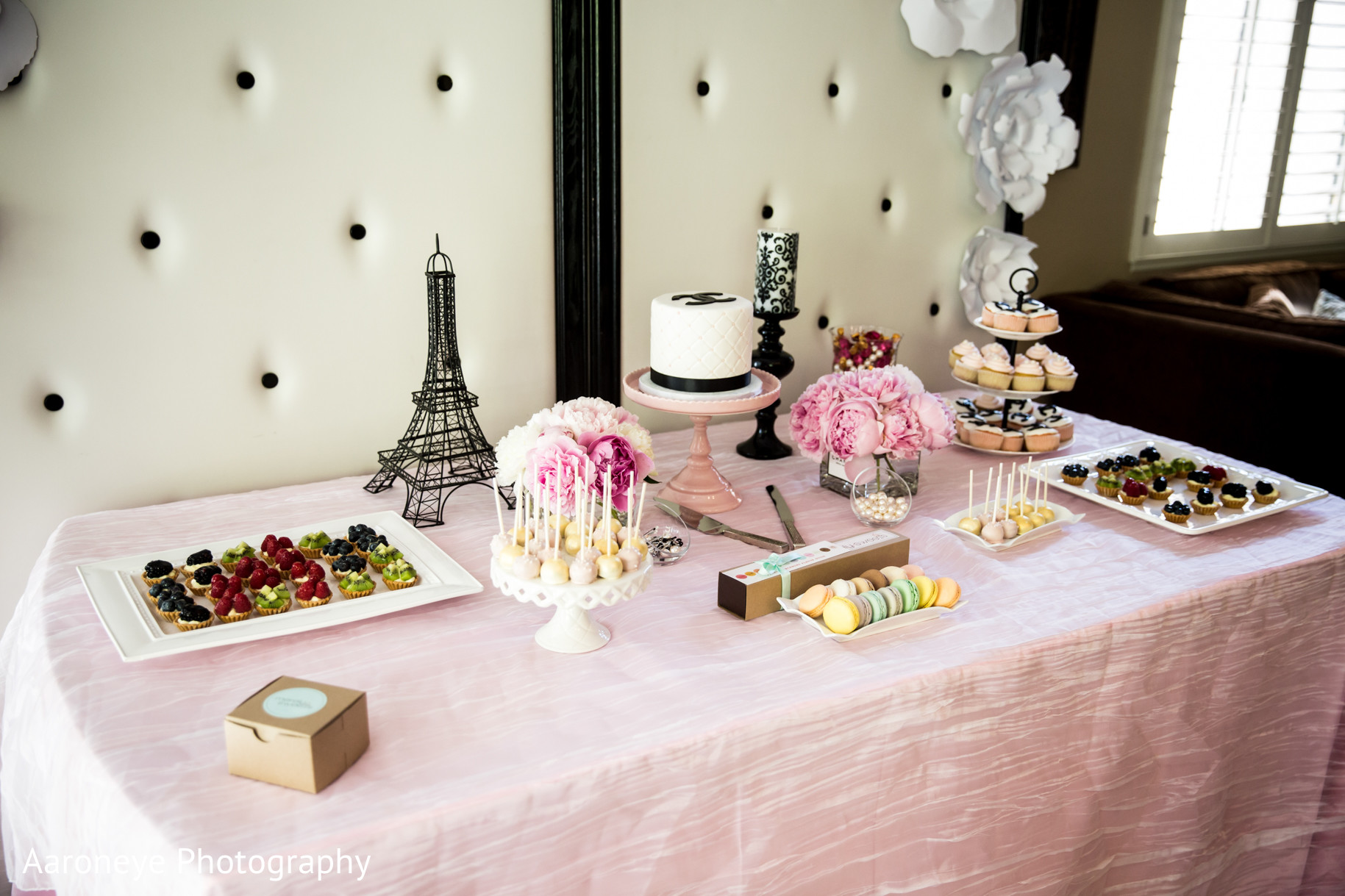 Chanel Themed Bridal Shower By Aaroneye Photography