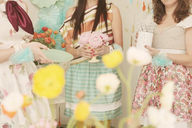 Spring Bridal Shower Themes TrueBlu