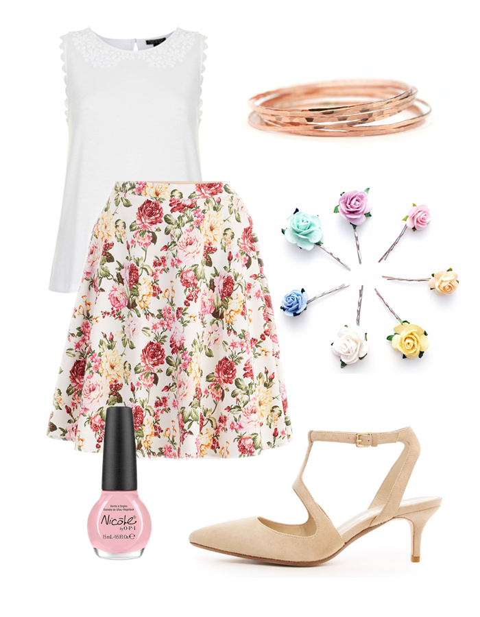 Spring Bridal Shower Outfit