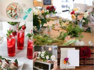 Flower Filled Bridal Shower Inspiration