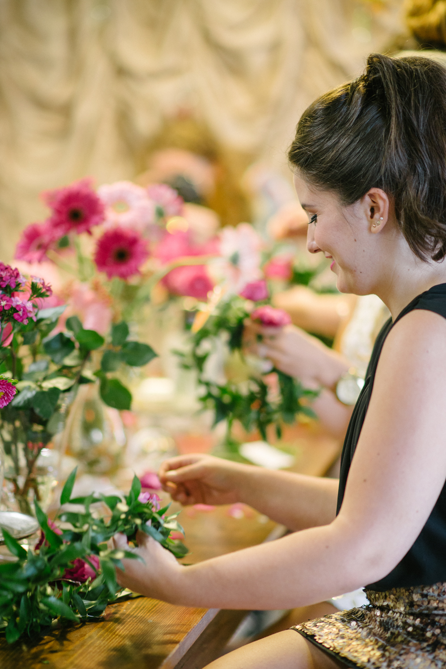 Bachelorette Party Flower Crown Bar