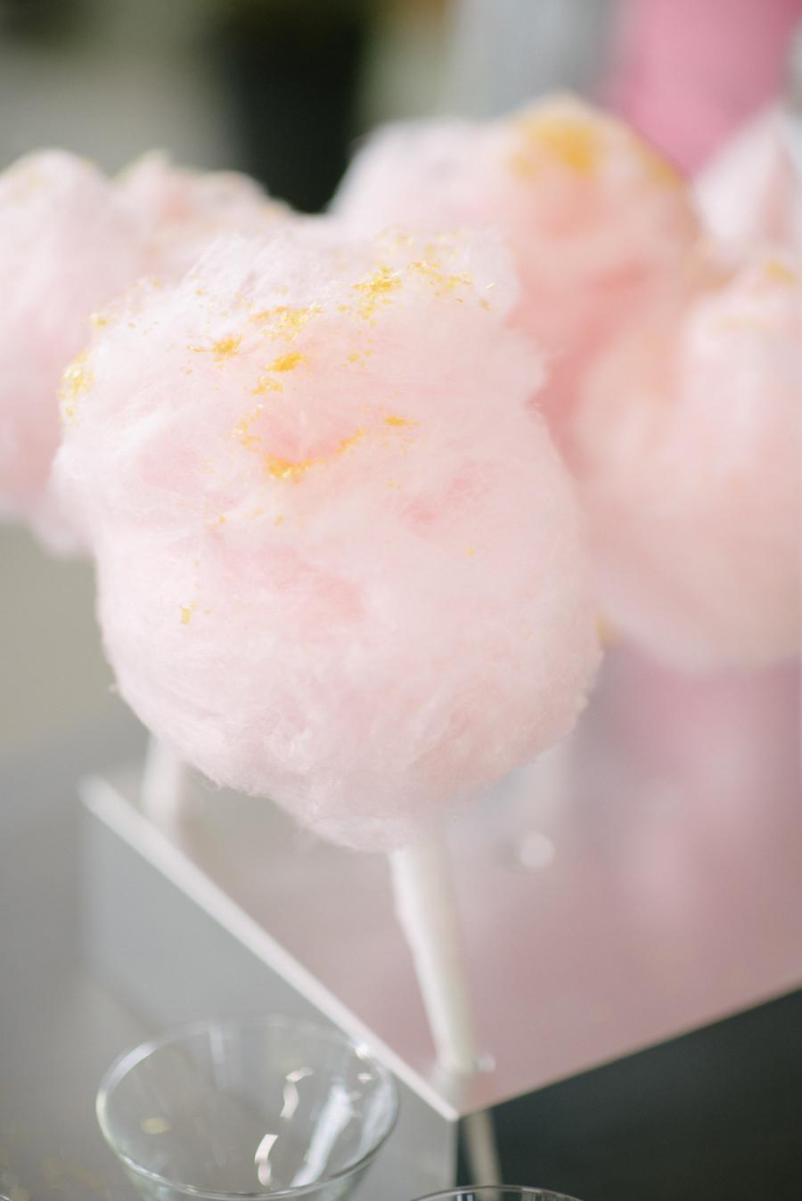 Glam Bachelorette Party Cotton Candy by Sean Money + Elizabeth Fay