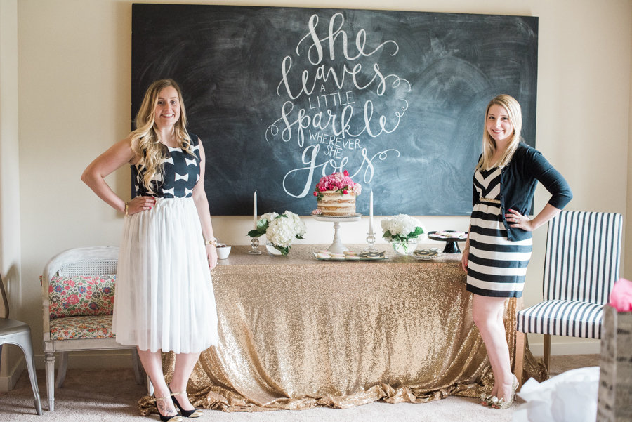 Kate Spade Bridal Shower Theme by B. Jones Photography