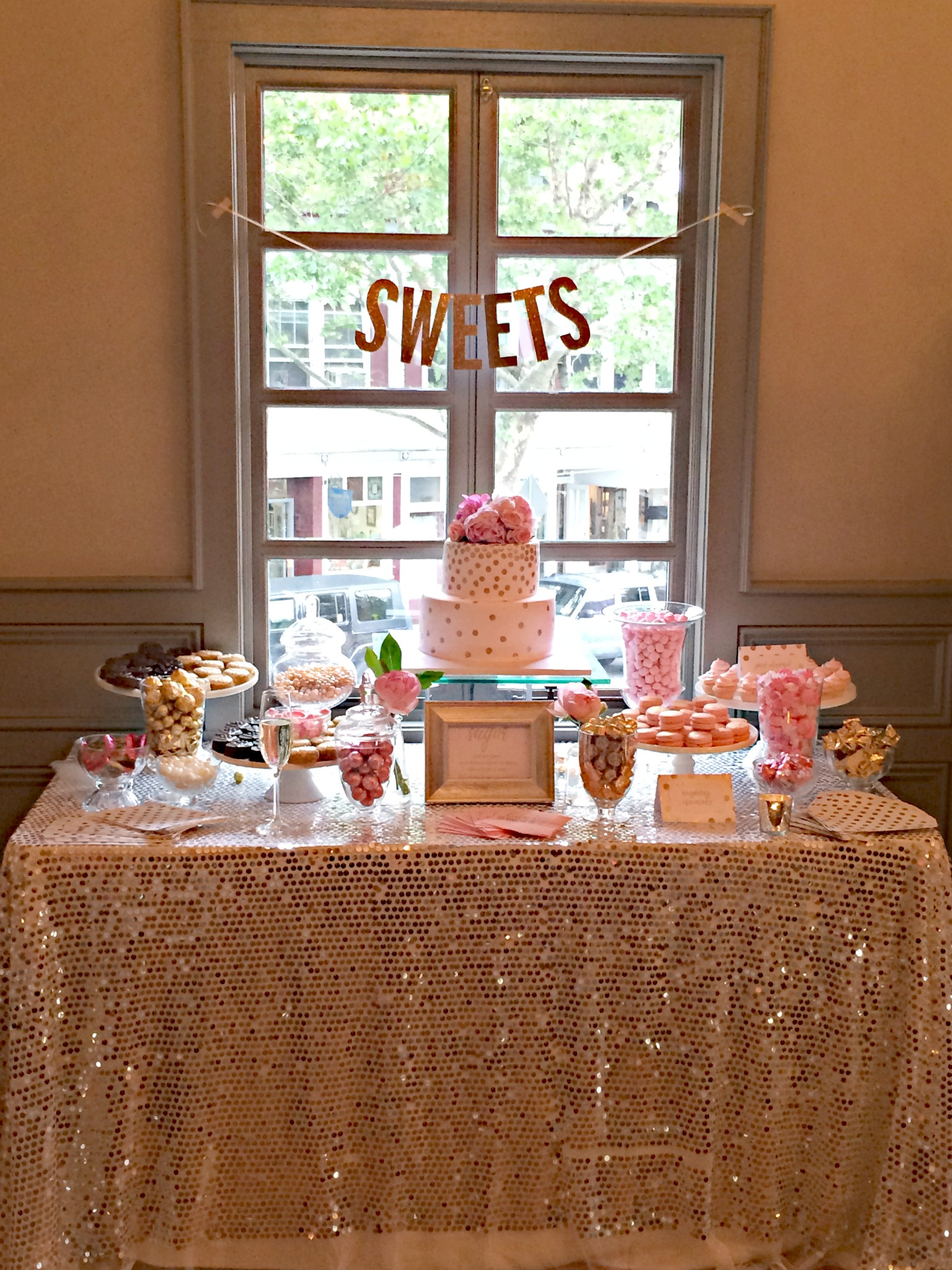 35 Delicious Bridal Shower Desserts Table Ideas | Table ...