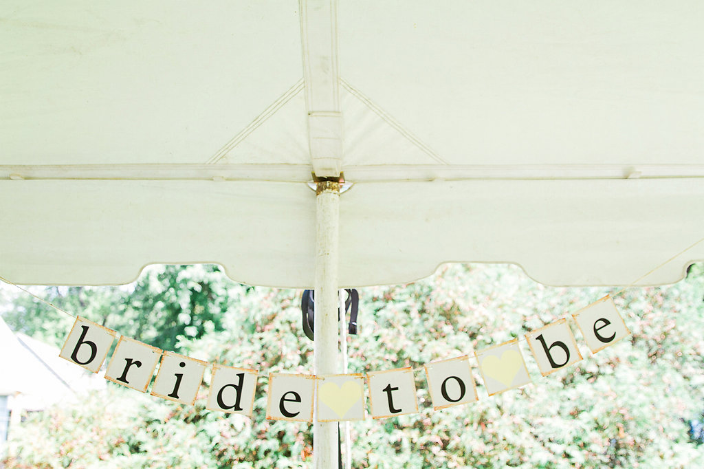 Yellow + White Bridal Shower
