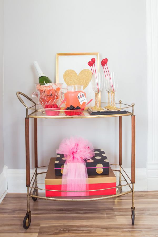 valentine's bridal shower