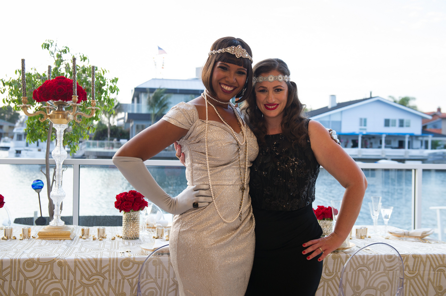 Vintage 1920s Seaside Bachelorette Party by Jessica Elizabeth Photography myTrueBlu.com