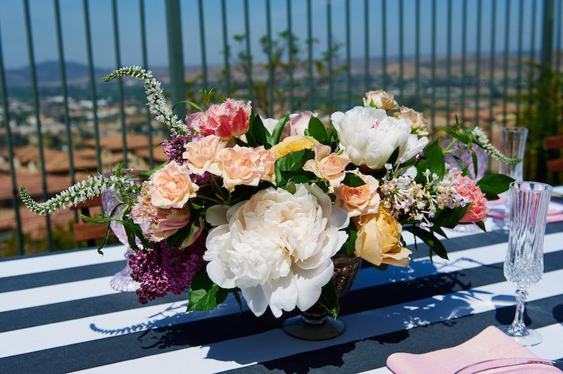Kate Spade Inspired Garden Shower - TrueBlu | Bridesmaid ...