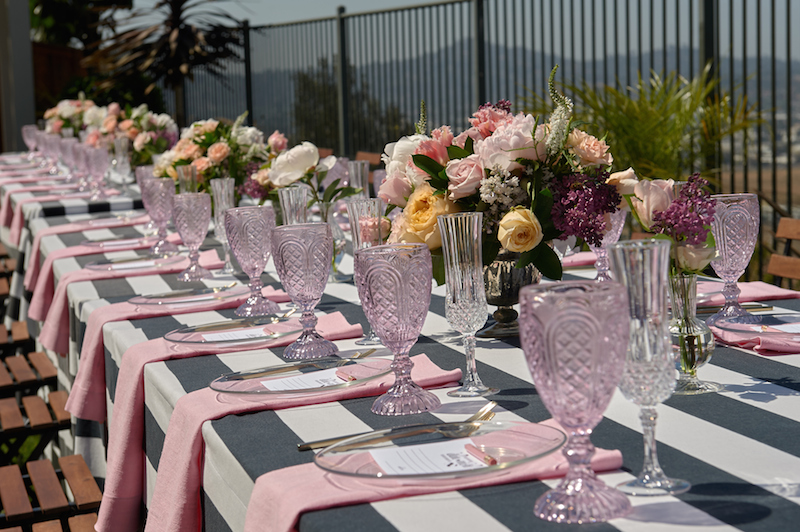 Kate Spade Garden Party Bridal Shower by A Vintage Affair Events