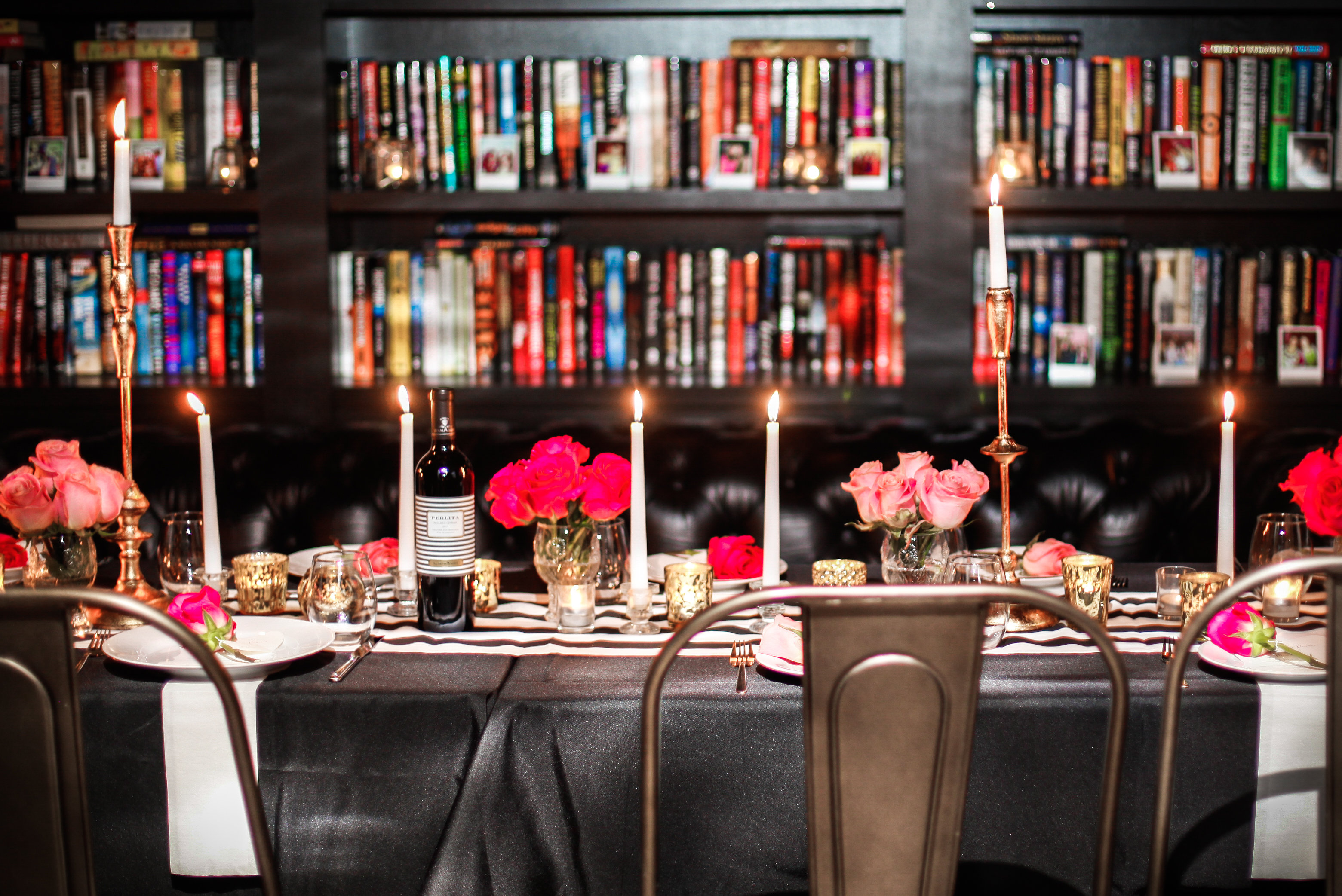 Parisian Bachelorette Party Dinner captured by Ruby Yeh Photography