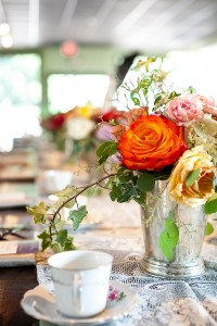 Vintage Bridal Shower Tea Inspiration