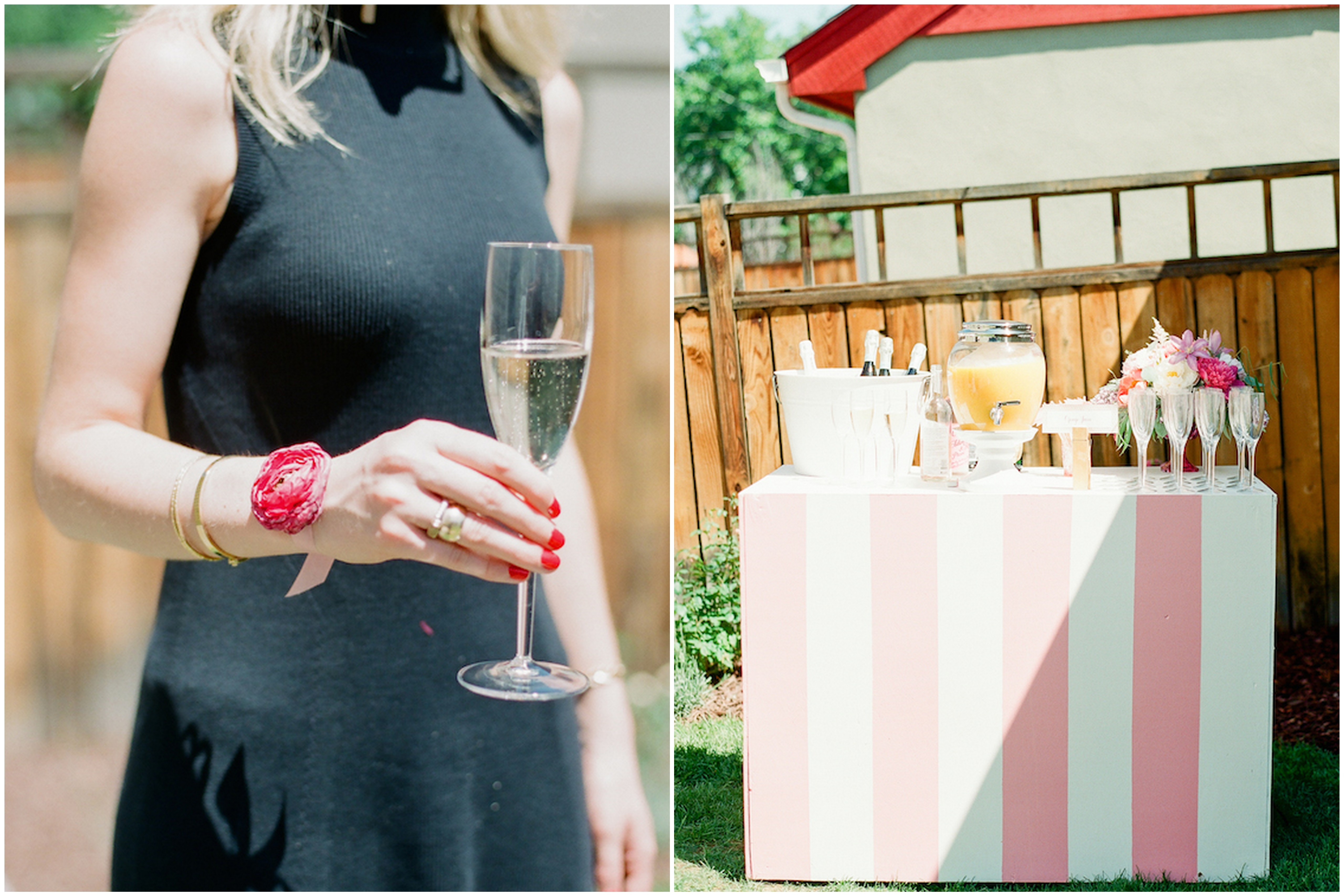 bright and cheery spring bridal shower