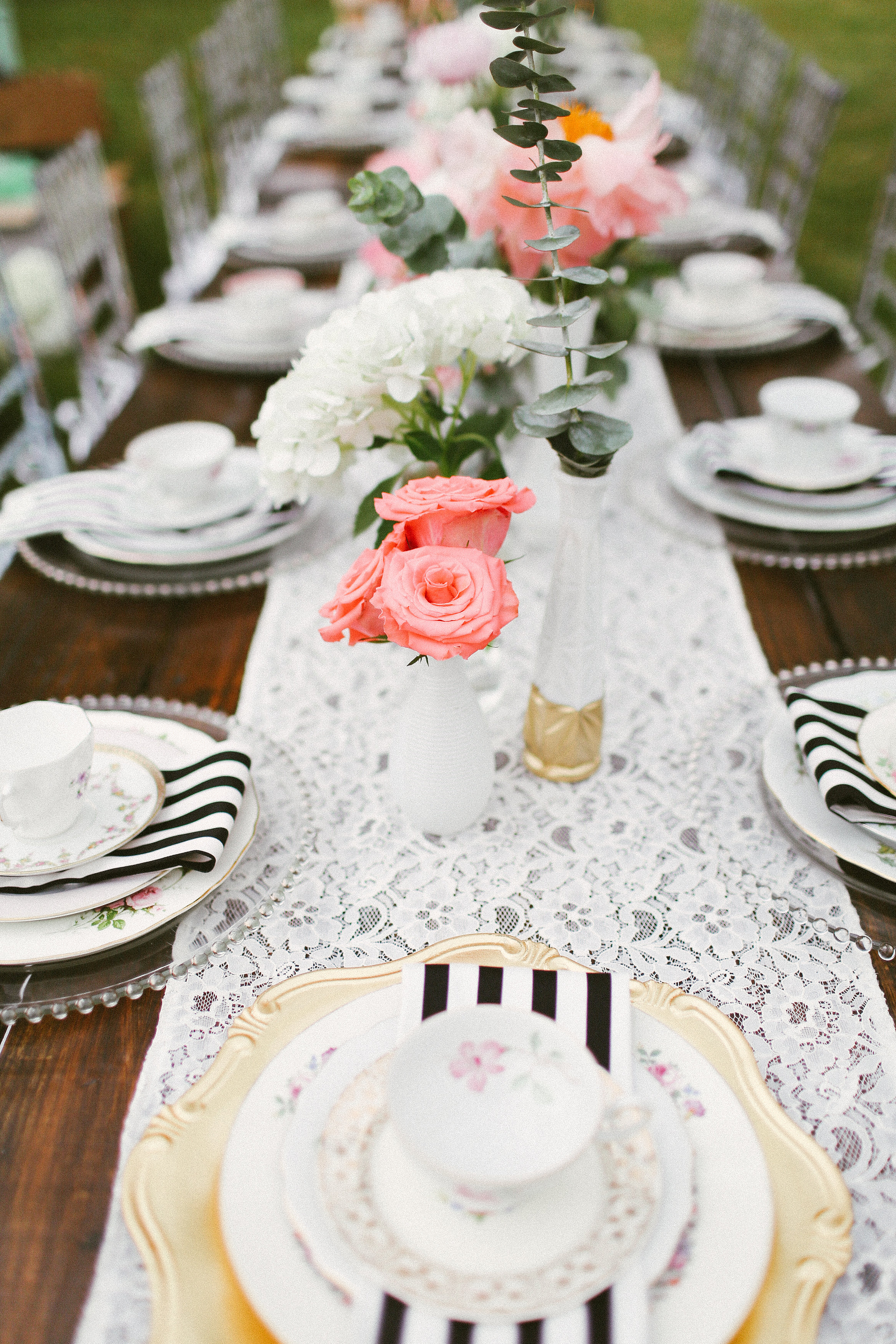 Classic Outdoor Bridal Shower in Miami