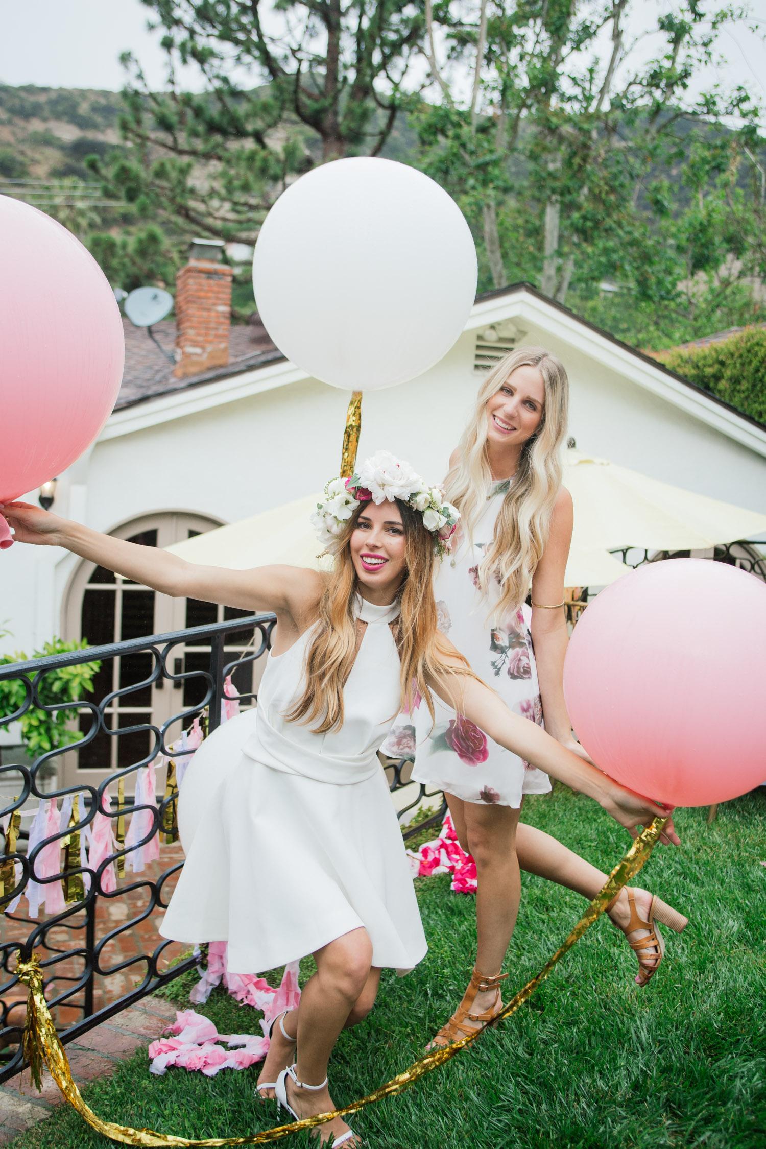 Outdoor Garden Bridal Shower Soiree Trueblu Bridesmaid