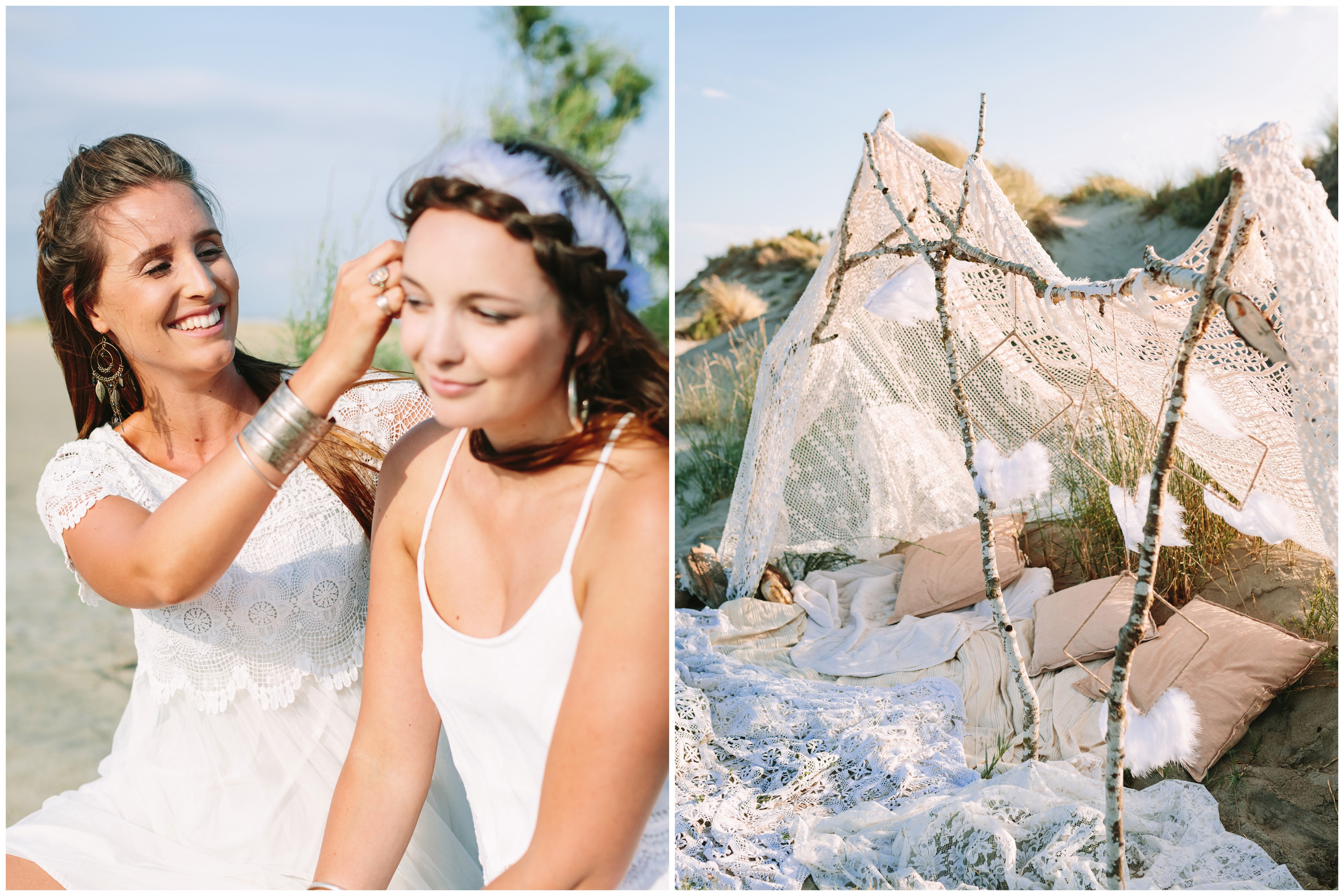 Boho Inspired Bachelorette Party Photography by Studio A + Q